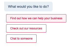 Chatbot Example - Find out how we can help your business